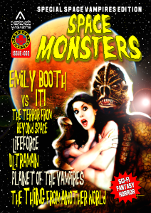 SpaceMonsters cover issue 2 draft