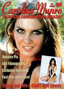 Caroline Munro poster mag cover